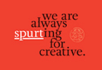 we are always SPURTing for creative